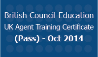British Council Education UK Agent Training Certificate