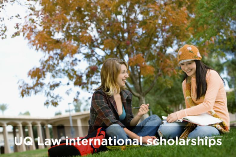 UQ Law international scholarships