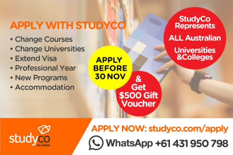 International Student's Promotion- $500 Gift Vouchers