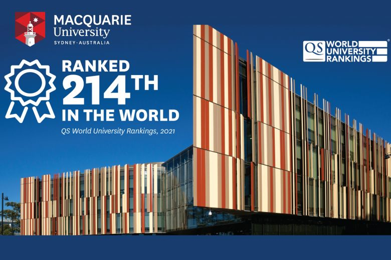 Macquarie University climbs to 214 in the 2021 QS World University Rankings