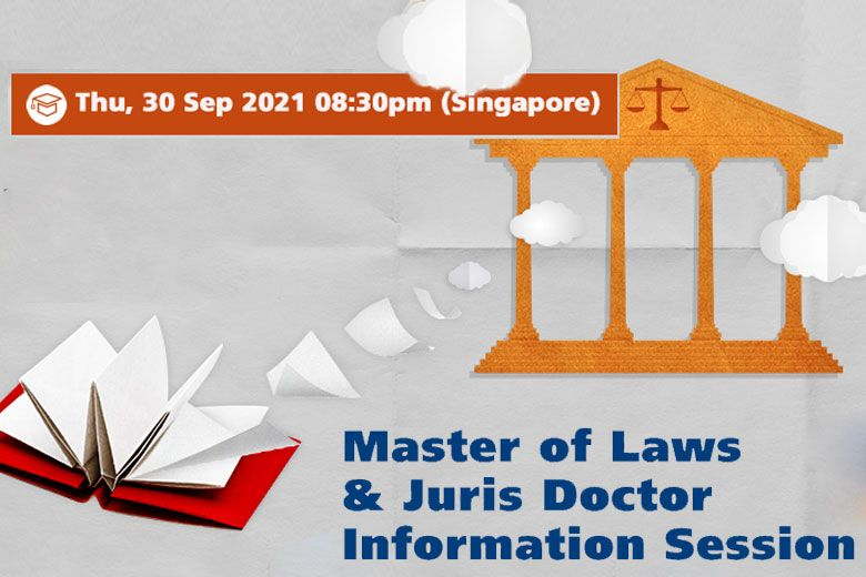Master of Laws & Juris Doctor Information Session