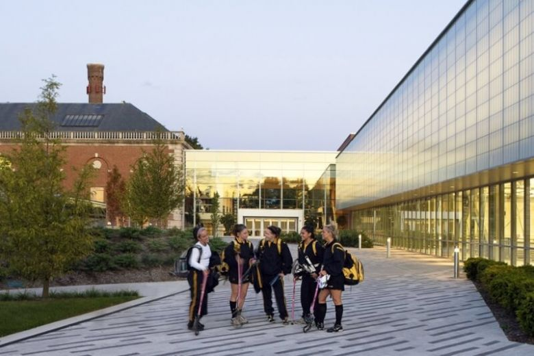 ADELPHI UNIVERSITY: A small, beautiful campus next to New York City, the cultural and financial capital of the world.