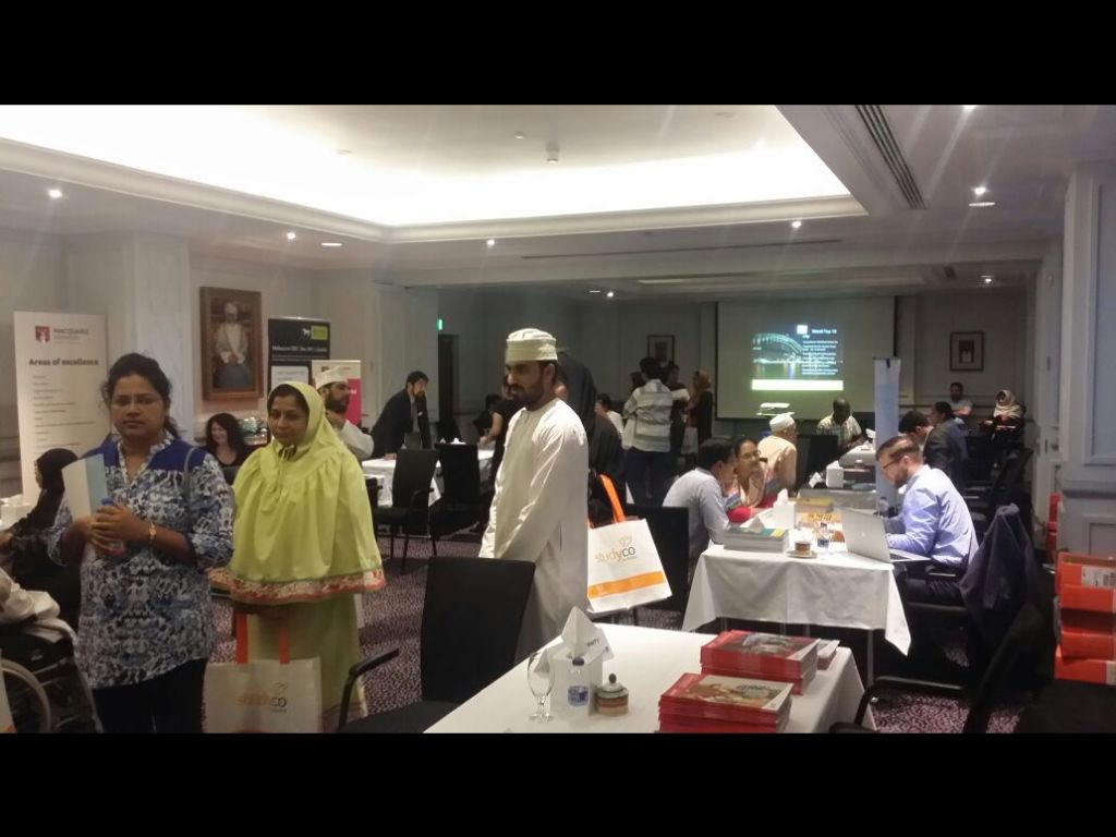 StudyCo Expo September 2016 Oman - 3