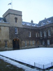 Lincoln College Front Quad