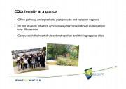 CQUniversity- Presentation 2