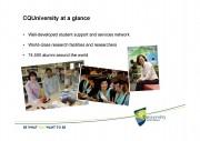 CQUniversity- Presentation 3