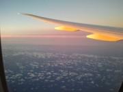 این هم یه عکس از غروب و محل هواپیما