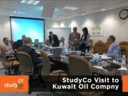 StudyCo Visit to Kuwait Oil Company 3