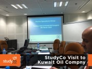 StudyCo Visit to Kuwait Oil Company 1