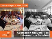 Australian Universities Information Session