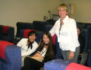 Students at Canadian Tourism College