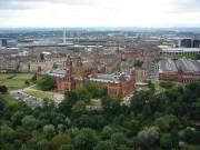 Kelvingrove Art Gallery and Museum from the University of Glasgow Tower