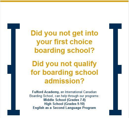Fulford academy an international canadian boarding school sciox Images