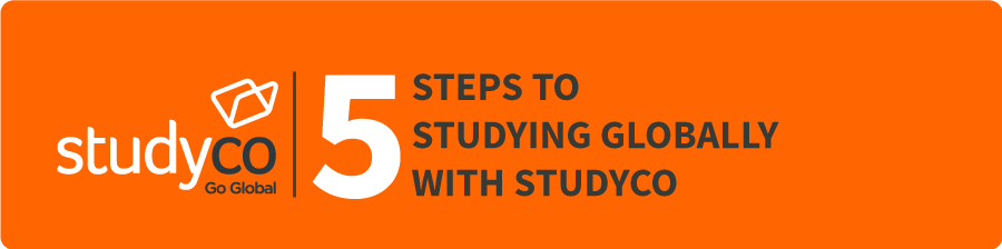STEPS TO  STUDYING GLOBALLY WITH STUDYCO